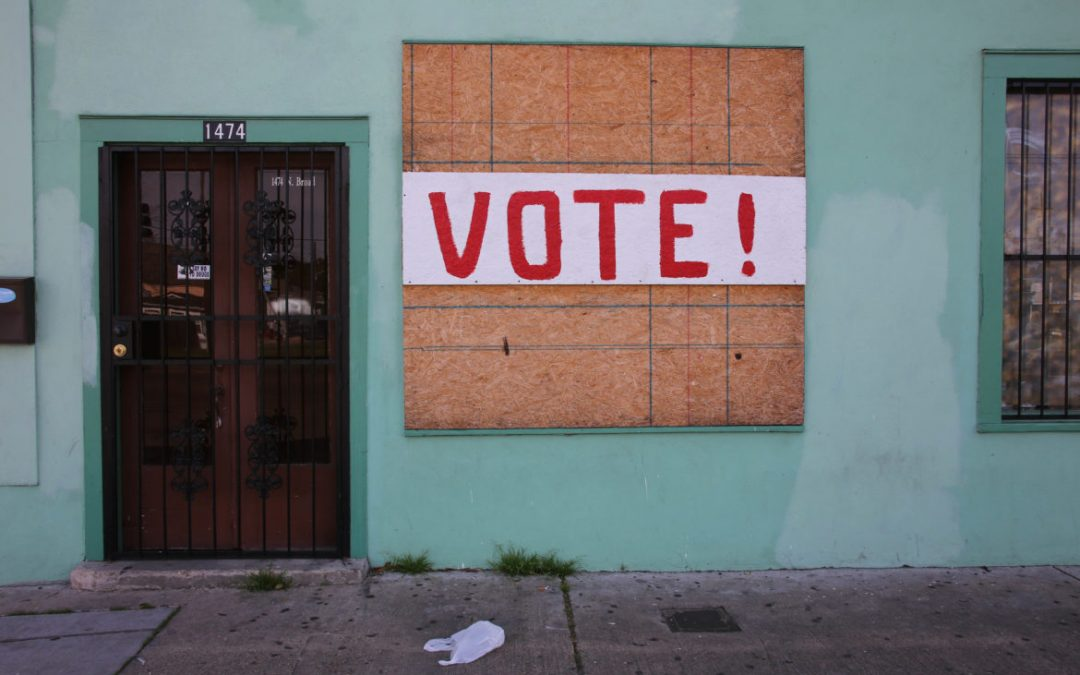 Votar con los pies